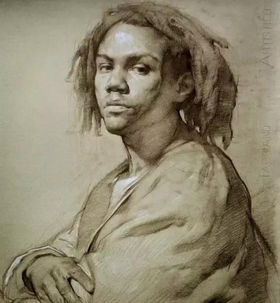 俄罗斯素描画家怎么处理素描关系 ART 第12张