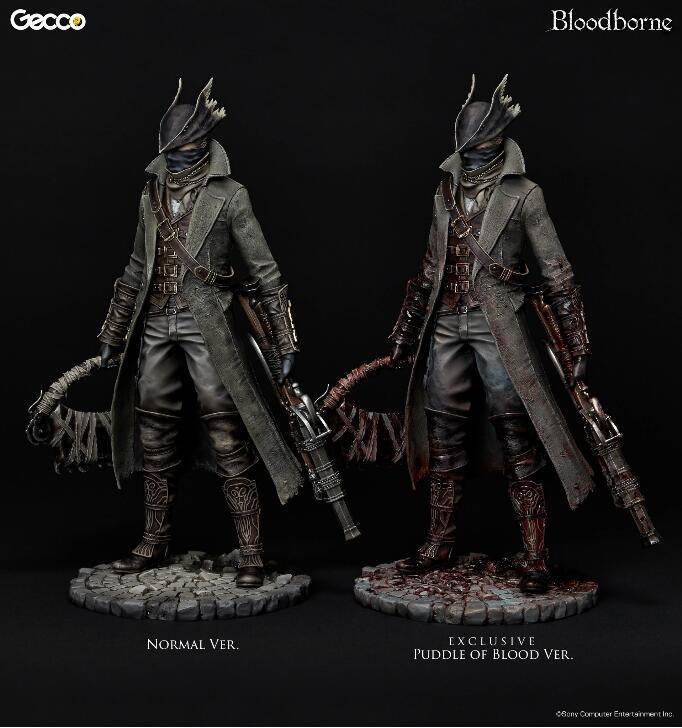 《血源诅咒》猎人手办配件套装发售