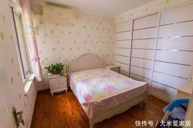 装修新房全屋贴的壁纸, 效果很漂亮, 橱柜却成唯一遗憾!