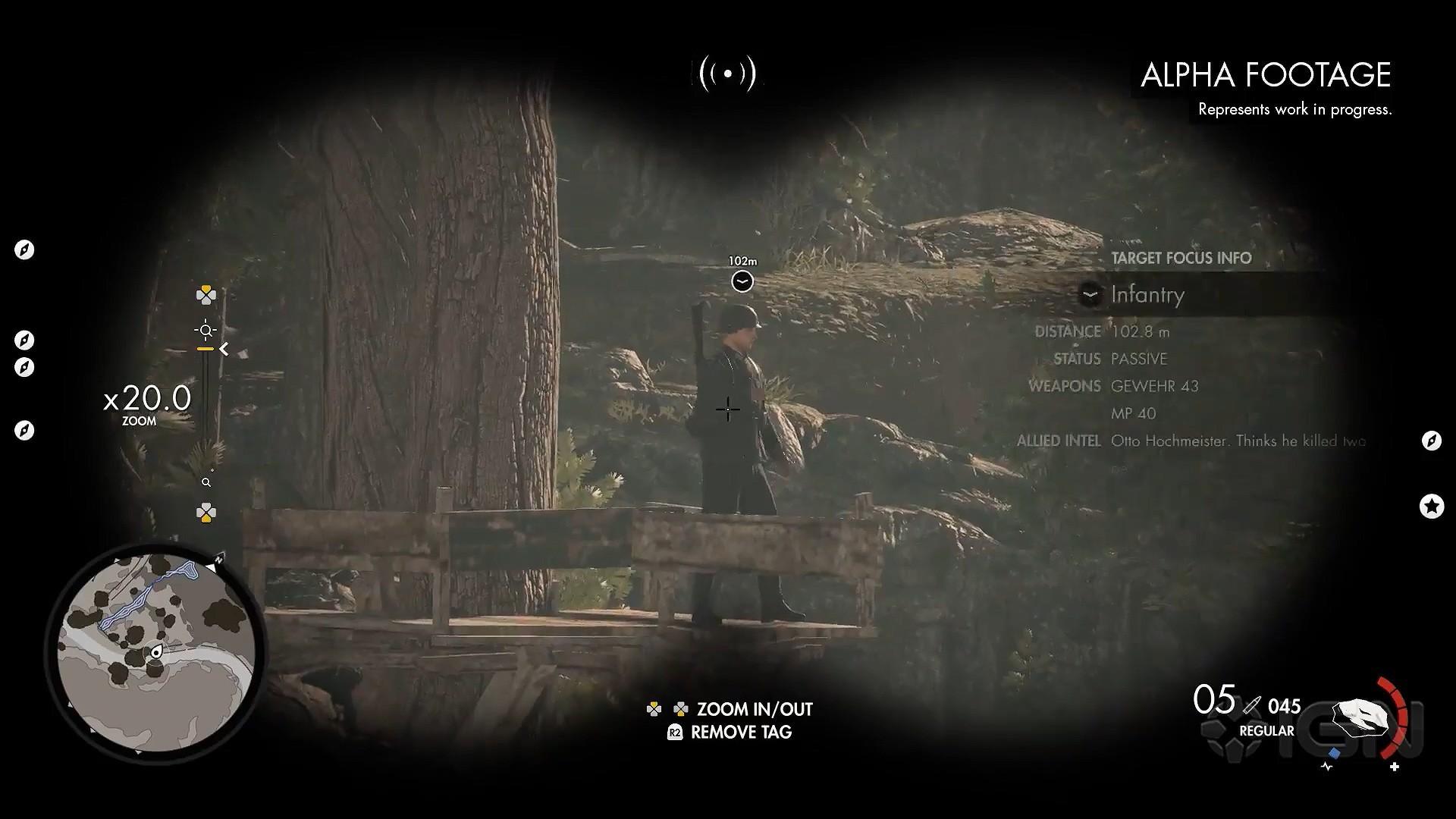 《狙击精英4》超长演示视频