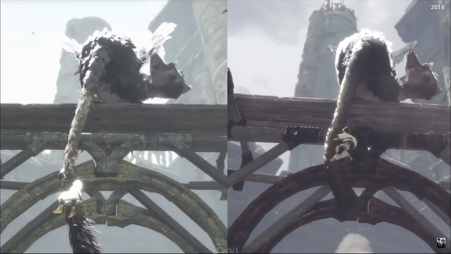 《最后的守护者》一年内画质明显提升
