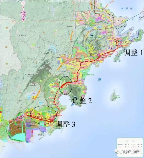 青岛西海岸地铁最全线路,站点,换乘攻略,速收藏!