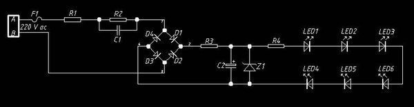 求教led驱动电源电容二极管的问题,如图6个一组串联再并联接到12v4a的