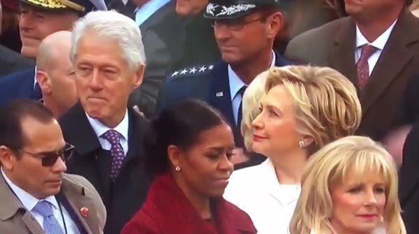 克林顿偷瞄特朗普女儿伊万卡 遭希拉里怒视 - 顺其自然 - 顺其自然的博客