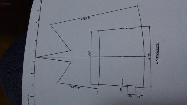 这个图用solidworks钣金怎么画出来的 展开图中的R4596和R5036一