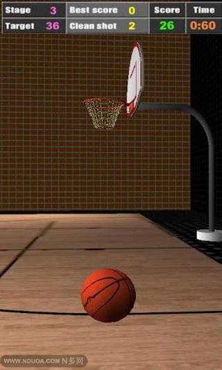 聪明的篮球 3D截图3