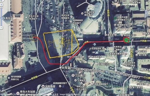 青岛火车站在哪个站点做一站车直达胶南