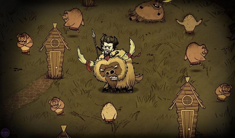 《饥荒》游戏宣传图