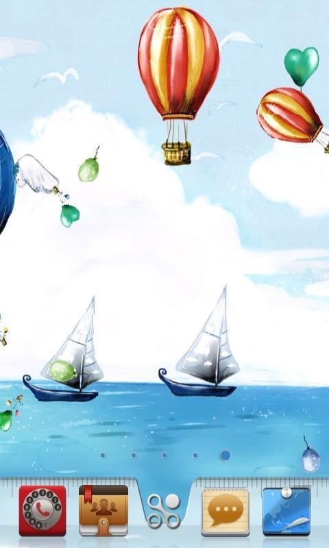 秋高气爽快要来临,抓住青春的尾巴,搭上可爱的热气球,乘上破浪的帆船