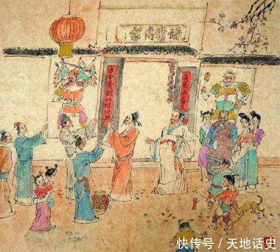 中国春节习俗由来,历史上各个朝代如何过年?