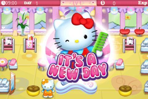 Hello Kitty美容院截图2