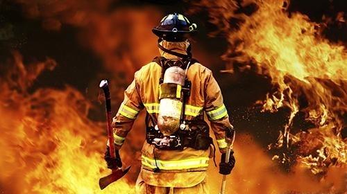 消防员使用VR进行战术演练