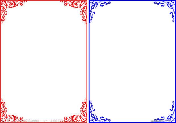 如何用彩铅画出好看的边框
