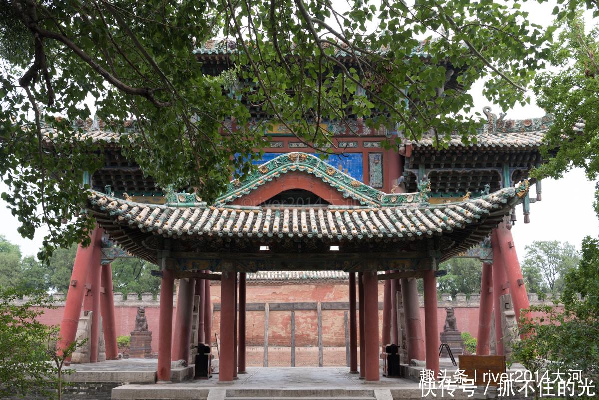 <b>中国最早的关帝庙在山西,距今1430年,为天下武庙之冠</b>